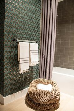Before & After: From Boring Bathroom to Bold! Professional Project | Apartment Therapy