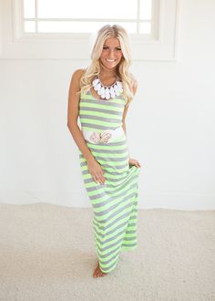 Online boutique. Best outfits. Take Me To the Beach in Neon Yellow - Modern Vintage Boutique
