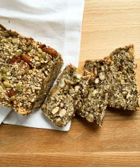 Healthy Seed and Nut Bread (gluten free + vegan) - Baked Ambrosia