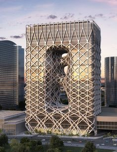 Zaha Hadid unveils sculptural hotel for casino resort in Macau