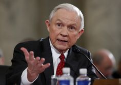 Attorney General Jeff Sessions met twice with Russia's ambassador to the United States during the 2016 presidential election season, the Department of Justice confirmed, at a time when he was a close adviser to then-candidate Trump. Martin Luther King, Liberal Tears, Voter Id, Jeff Sessions, Attorney General, Donald Trump, Presidents, The Past, Sayings