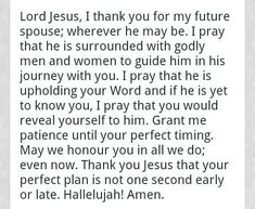 A Prayer for the single ladies! Prayer to God for your soul mate before marriage!