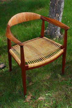 Wegner/ the chair tidlig udgave/del af mit barndomshjem