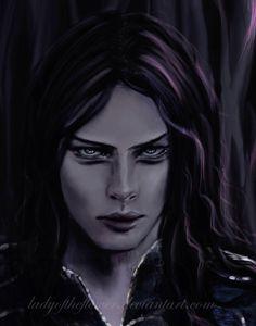 Maeglin - Age of Gondolin - fragment by Ladyoftheflower.deviantart.com on @DeviantArt
