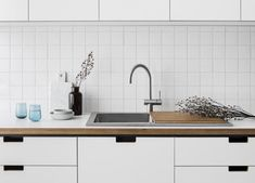 Voda Tap — The Versatile Companion — Kitchen Renovation & Custom Kitchen Designs Compact Kitchen, Functional Kitchen, Sussex Taps, System Kitchen, White Laminate, Decor Logo, Minimalist Apartment, Bowl Designs, Stainless Steel Sinks
