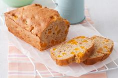 Apple and apricot loaf---This light and bright fruity baked loaf is a guaranteed lunchbox smash hit!