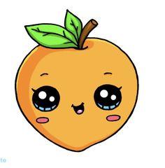Cute Food Drawings, Cute Animal Drawings Kawaii, Cute Cartoon Drawings, Cute Disney Drawings, Cartoon Girl Drawing, Colorful Drawings, Wallpaper Iphone Cute, Cute Wallpapers, Drawing Wallpaper