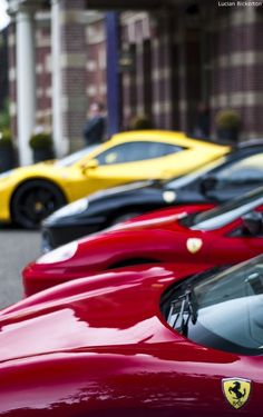 You can never have too many Ferrari...#cars #fast