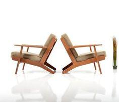 Hans J. Wegner for Getama. 'butterfly' lænestol, model GE