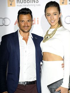 Sept 2014 -  Peter Andre reveals family plans with Emily MacDonagh