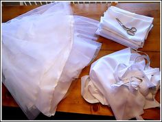 10 Ways to Repurpose a Wedding Dress - Andrea Dekker Old Wedding Dresses, Wedding Dress Crafts, How To Dress For A Wedding, Wedding Gowns, Wedding Venues, Post Wedding, Wedding Rings, Recycled Wedding, Wedding Dress Preservation
