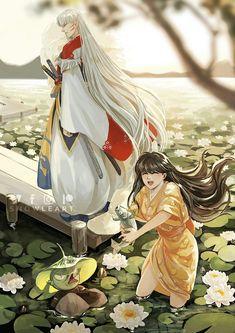 Ran And Shinichi, Seshomaru Y Rin, Inuyasha And Sesshomaru, Dream Wedding, Fandoms, Princess Zelda, Kawaii, Fan Art, Manga