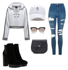 """""""Untitled #48"""" by lowkey101 on Polyvore featuring Topshop, Puma, Hogan, Kate Spade and Christian Dior"""