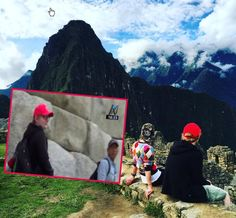 Singer Ed Sheeran and his sweetheart, Cherry Seaborn, share an idyllic moment at Machu Picchu. The couple toured Inca Sanctuary on Tuesday, May 9, 2017.