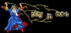 Play in Euro Online Casino, Euro, Neon Signs, Play