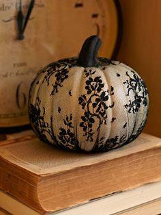 #lace #pumpkin