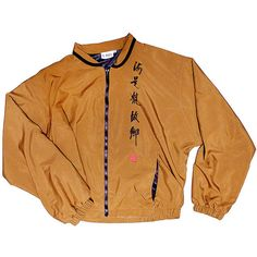 Rare Asian Inspired Silk Wind Breaker ($38) ❤ liked on Polyvore featuring outerwear, jackets, tops, coats, wind breaker jacket, wind jacket and windbreaker jacket