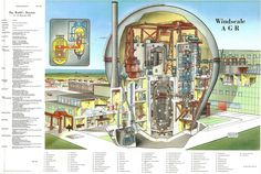 The World's Reactors, No. 32, Windscale AGR, Windscale, Cumberland, UK. Wall chart insert, Nuclear Engineering, April 1961 by peacay, via Flickr