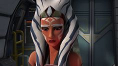 Ahsoka after her black out.
