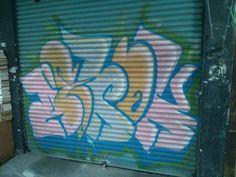 Front door graffiti, Busan, South Korea