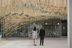 Diseñado por la firma neoyorquina de arquitectura del Paisaje Nomad Studio(fundada por la española Laura Santín y el estadounidense William E....  http://www.plataformaarquitectura.cl/cl/793905/green-air-un-jardin-aereo-escultural?utm_medium=email&utm_source=Plataforma%20Arquitectura