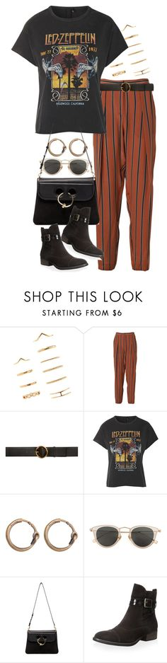 """Untitled #10648"" by nikka-phillips ❤ liked on Polyvore featuring Forever 21, By Malene Birger, STELLA McCARTNEY, Topshop, Acne Studios, Issey Miyake, J.W. Anderson and Donald J Pliner"