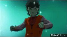 Justice League VS Teen Titans transformation scene