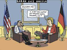 La Tribune, Caricatures, Peugeot, Obama, Diesel, Ecards, Usa, Memes, Politics