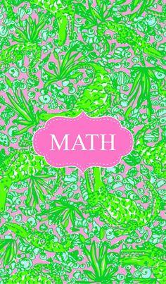 Math Binder Cover for Pinterest