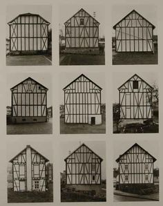 Bernd and Hilla Becher, Framework Houses