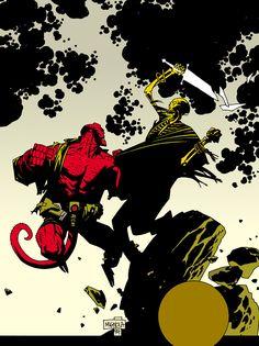 ✭ Hellboy by Mike Mignola