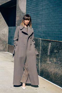 February 18, 2016  Tags Calvin Klein, Anya Ziourova, Coats, New York, FW16 Women's