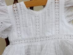 French christening gown baptism gown vintage by Daisyrootsfrance