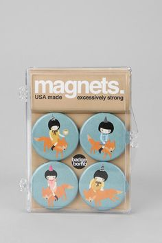 Badge Bomb Magnets  #UrbanOutfitters