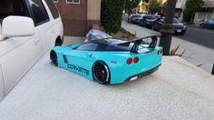 200mm Corvette Custom Paint Sprint2 TT01 Lipo HPI Body 1/10 Drift On Road Nitro 4 • CAD 58.31