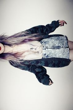 grunge girl. need a s hot like this