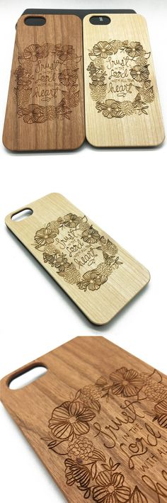 #Flowers Quote Lord #Wooden Wood #Case #iPhone7 Plus 6 6s 5s #Jesus Christ #Samsung S7/6/5 Edge