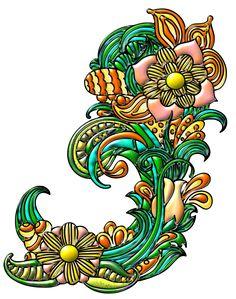 Ornamento-floral-19 by bbvzla