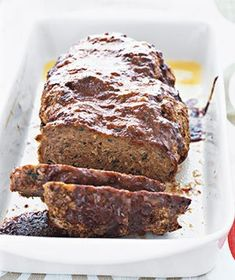 This meatloaf recipe SERIOUSLY beats all others. Easiest, moist (but firm) SUPER flavorful.