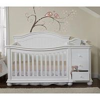 Sorelle Vista Elite Crib and Changer - White