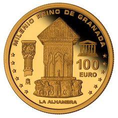 Granada, 100 Euro, European History, Gold Coins, Precious Metals, Silver, Coins, Wealth, Golden Roses