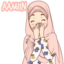 Kiciks Muslimah 3 - Stiker LINE | LINE STORE Funny Cartoon Quotes, Cute Cartoon Pictures, Funny Emoji, Cartoon Jokes, Funny Cartoons, Cartoon Art, Muslim Greeting, Cute Drawings Of Love, Islamic Cartoon