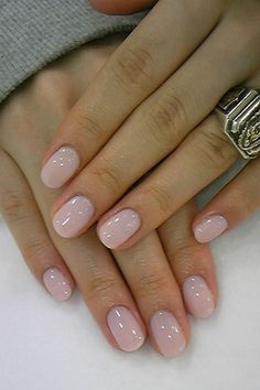 Round Nail Shape, round acrylic nails art designs