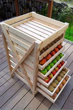 DIY Food Storage Drying Rack ..Read more details here…