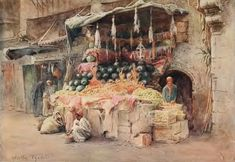 World of Art: Акварелист Frederick Roofe Tyndale (1855–1943) worldartdalia.blogspot.com800 × 551Buscar por imagen Walter Frederick Roofe Tyndale (1855–1943) - английский художник-акварелист acuarelas de egipto - Buscar con Google