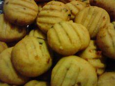 Receita de Biscoito de cebola rápido e fácil.