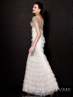 Jewel and Tulle Gown, Style 171307