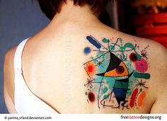 Pablo Picasso tattoo