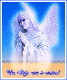um anjo vira te visitar