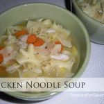 Homemade Chicken Broth and Chicken Noodle Soup
